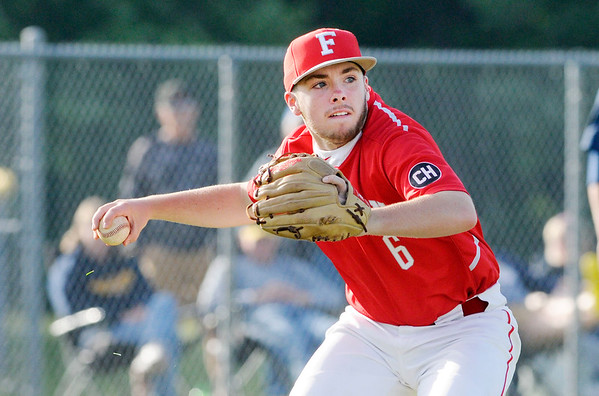 Don Knight   The Herald Bulletin<br /> Frankton faced Shenandoah in the sectional at Lapel on Wednesday.