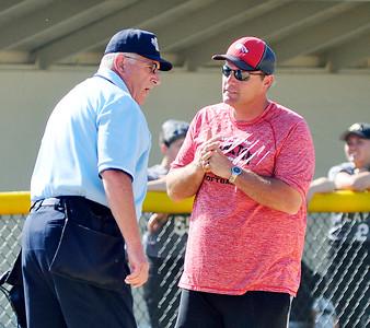 John P. Cleary | The Herald Bulletin Lapel vs Frankton in sectional softball.