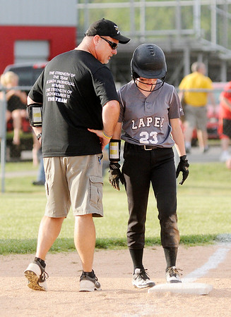 Don Knight | The Herald Bulletin<br /> Frankton hosted Lapel in Sectional 40 on Tuesday.
