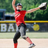 Don Knight | The Herald Bulletin<br /> Liberty Christian's Alayna Thomas pitches for the Lions as they faced Southern Wells in the sectional at Daleville on Wednesday.