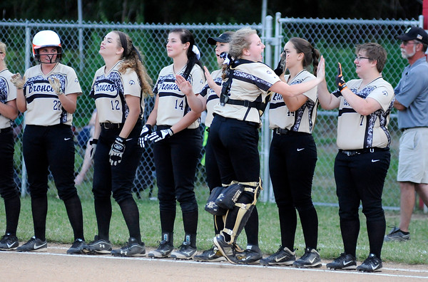 Don Knight   The Herald Bulletin<br /> Liberty Christian hosted Daleville during the softball sectional on Tuesday.