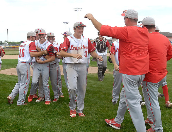 John P. Cleary   The Herald Bulletin<br /> Lapel vs Frankton in 2A baseball sectional championship game.