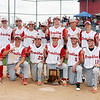 John P. Cleary | The Herald Bulletin<br /> The Frankton Eagles are the 2018 2A baseball sectional #40 champions.