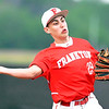 John P. Cleary |  The Herald Bulletin<br /> 2A sectional baseball finals between Frankton and Wapahani.
