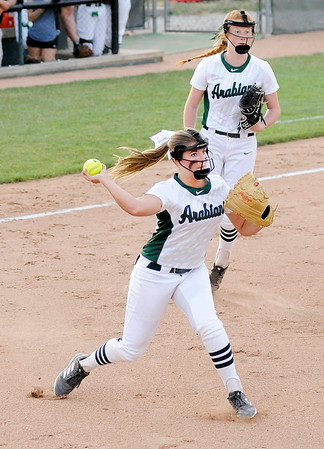 Don Knight | The Herald Bulletin<br /> Pendleton Heights hosted Cathedral in the regional on Tuesday.