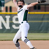 Don Knight | The Herald Bulletin<br /> Pendleton Heights' Jordan Benefiel pitches for the Arabians as they hosted Cathedral in the regional on Tuesday.