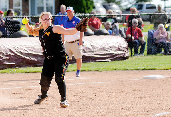 Don Knight | The Herald Bulletin<br /> Elwood beat Alexandria 5-0 to advance to the semistate.