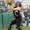 Don Knight   The Herald Bulletin<br /> Madison-Grant catcher Zoey Barnett catches a foul ball as the Argylls hosted the Alexandria Tigers on Thursday.