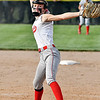 Frankton's Adyson Coppess throws a complete game getting the victory against Madison-Grant.