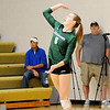 Don Knight | The Herald Bulletin<br /> Pendleton Heights Averi Lanman serves for the Arabians as they faced Madison-Grant on Thursday.