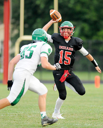 Don Knight   The Herald Bulletin<br /> Anderson opened their season against Yorktown at home on Friday.