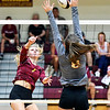 John P. Cleary | The Herald Bulletin<br /> Liberty Christian vs Alexandria in volleyball.