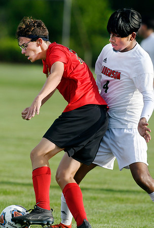 John P. Cleary | The Herald Bulletin Anderson vs Liberty Christian in boys soccer.