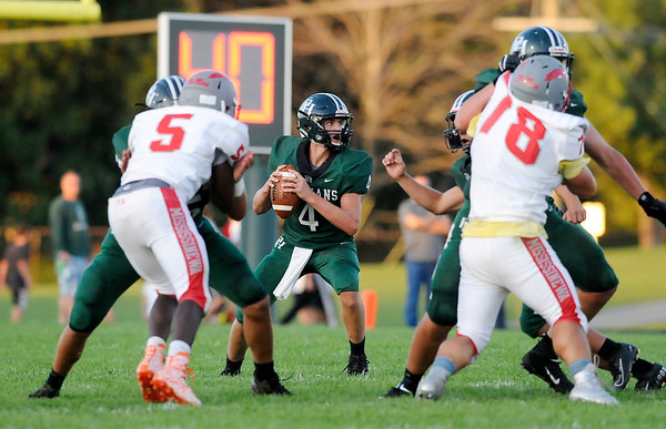 Don Knight   The Herald Bulletin<br /> Pendleton Heights hosted Mississinewa on Friday.