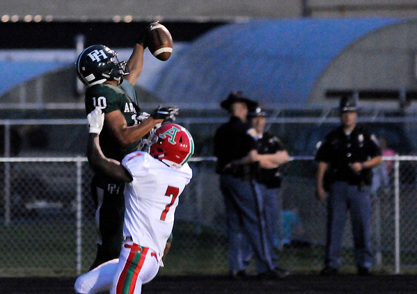 Don Knight | The Herald Bulletin<br /> Pendleton Heights hosted Anderson on Friday.