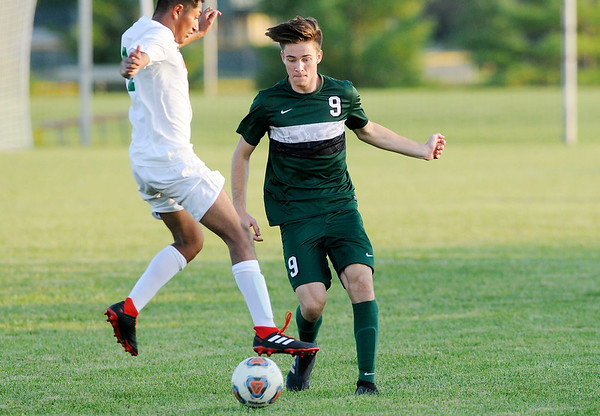 Don Knight   The Herald Bulletin<br /> Pendleton Heights hosted Anderson on Thursday.