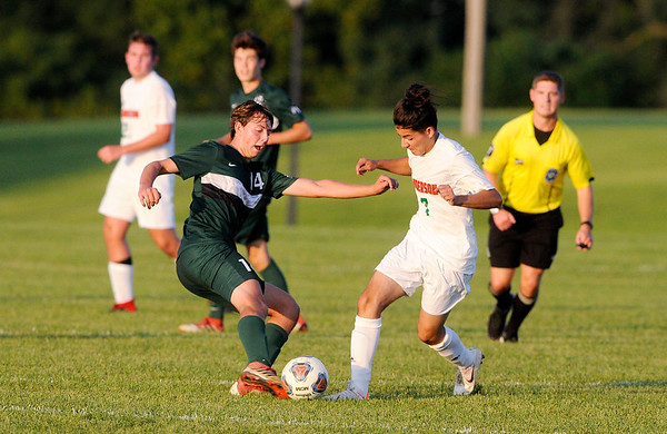 Don Knight | The Herald Bulletin<br /> Pendleton Heights hosted Anderson on Thursday.