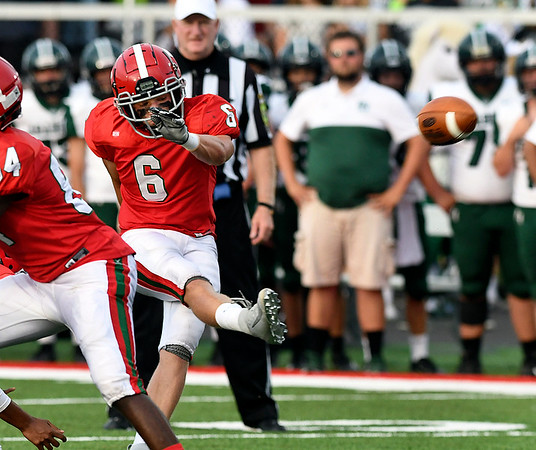 John P. Cleary | The Herald Bulletin<br /> Pendleton Heights vs Anderson HS in football.