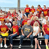 John P. Cleary | The Herald Bulletin<br /> Alexandria Monroe High School class of 1968 enjoys their 50th reunion attending the their homecoming football game against Frankton Friday evening.