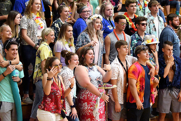 John P. Cleary | The Herald Bulletin<br /> Frankton vs Alexandria in volleyball.