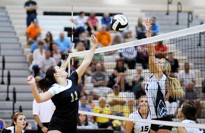 9/1/15 PHHS vs Lapel volleyball