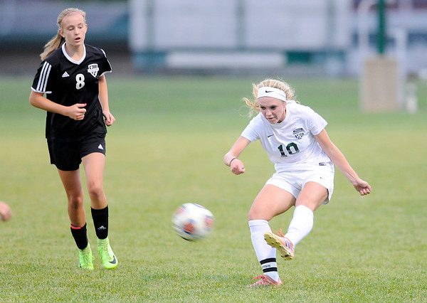 Don Knight | The Herald Bulletin<br /> Pendleton hosted Yorktown on Tuesday.
