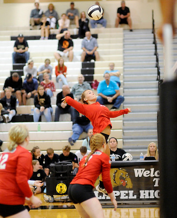 Don Knight   The Herald Bulletin<br /> Lapel hosted Anderson on Wednesday.