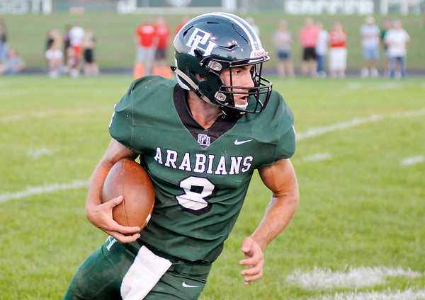 Don Knight   The Herald Bulletin<br /> Pendleton Heights hosted New Palestine on Friday.