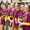 It was an emotional night Wednesday at The Jungle as Alexandria honored the late Deanna Miller, the former volleyball coach and long-time fixture with in the volleyball program, before the varsity match.