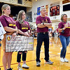 Alexandria paid tribute to the late Deanna Miller, the long-time fixture of the Tiger volleyball program, before their varsity match against Tipton Wednesday evening.