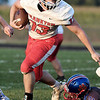 John P. Cleary | The Herald Bulletin<br /> Frankton vs Elwood in football.