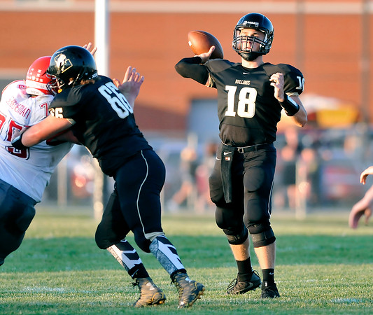 John P. Cleary   The Herald Bulletin<br /> Adams Central vs Lapel HS in football.