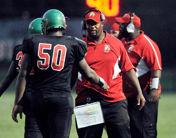 John P. Cleary | The Herald Bulletin<br /> Anderson vs Kokomo in Football.