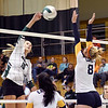 John P. Cleary | The Herald Bulletin<br /> Delta vs Pendleton Heights in volleyball.