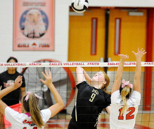 Don Knight   The Herald Bulletin<br /> Frankton hosted Madison-Grant on Tuesday.