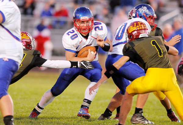 Don Knight | The Herald Bulletin<br /> Alexandria hosted Elwood on Friday.