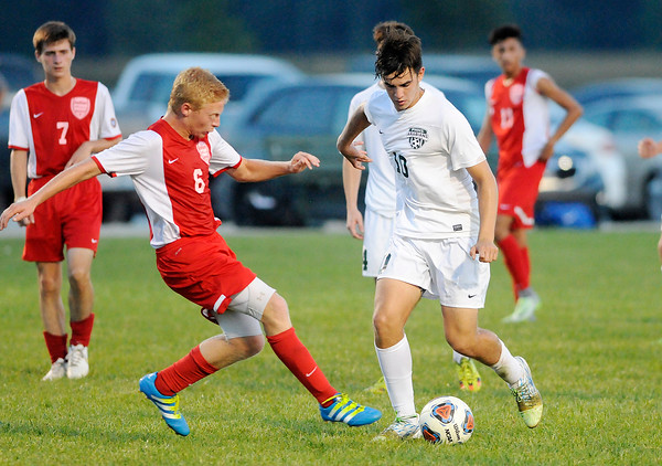 Don Knight   The Herald Bulletin<br /> Pendleton Heights hosted Anderson on Wednesday.
