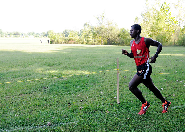 Don Knight | The Herald Bulletin<br /> City cross country meet at Davis Park on Tuesday.