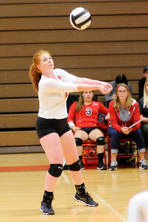 Don Knight   The Herald Bulletin<br /> Madison County Volleyball Tournament at Anderson on Thursday.