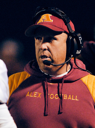 Alexandria's head coach Pete Gast.