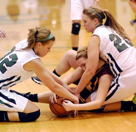 Alexandria vs PHHS in girls basketball.
