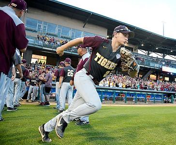 John P. Cleary | The Herald Bulletin The Alexandria Tigers vs Southridge Raiders in IHSAA 2A Baseball State Championship.