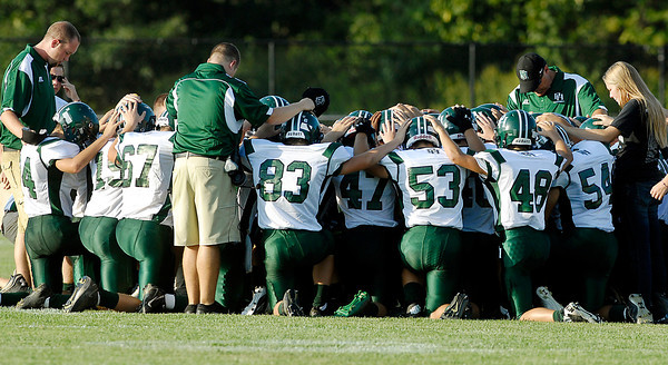 Pendleton Heights at Anderson High School in Friday night football.