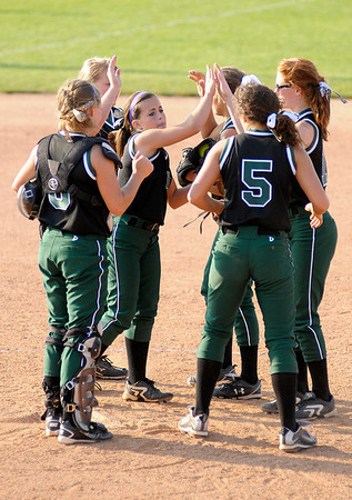 Pendleton Heights faced Greenfield-Central in the sectional championship.