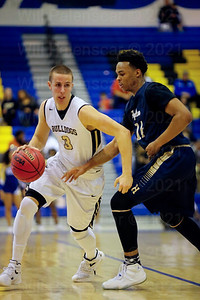 Tyler Scanlon scored 14 points in win over Hylton