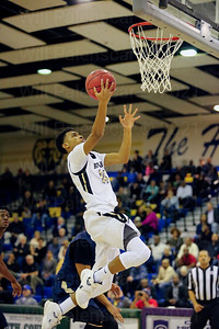 Kory Jones # 24 scores two of his 8 points in Westfields victroy over Hylton