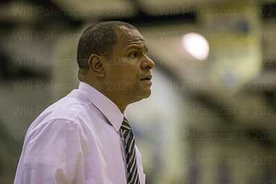 Westfield basketball coach Doug Ewell is focused