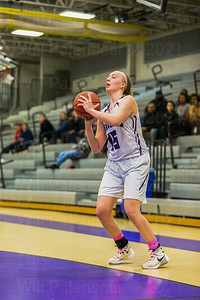Grace Rauch #15 fires a 3 pointer for Chantilly.