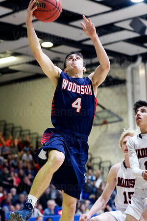 David Promisel scored 11 points for the WT Woodson Cavaliers