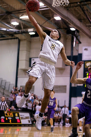 Jordan Hairston #2 led Westfield with 15 points in game with Chantilly